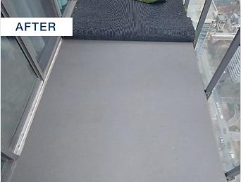 concrete surface finish layer