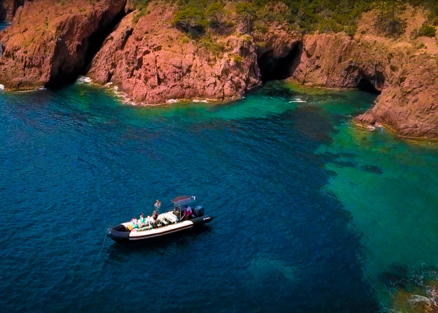Saint Raphael boat ride with Sea