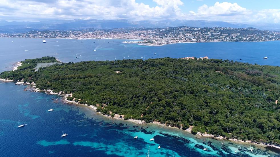 Vue aérienne de Sainte Marguerite