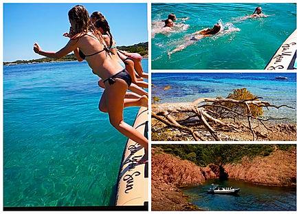 baignade plage saint raphael avec sea yo