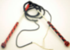 Custom 2ft Nylon Stock Whip Set