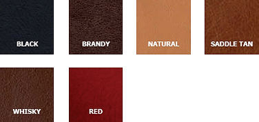 kangaroo hide colour chart