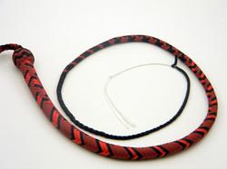 Crimson Red Black & Imperial Red Nylon SIgnal