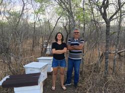 Teresa Raquel e Wener Bastos