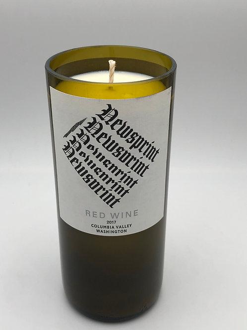 Newsprint Red Wine (White Tea & Berries)-In Stock
