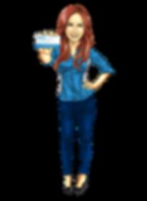 MedCard mascot lady
