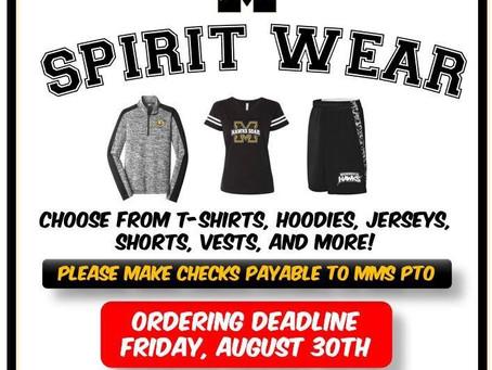 MMS Spirit Wear