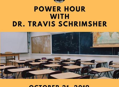 REMINDER: Principal Power Hour
