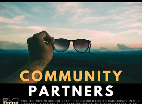 We're Looking for Community Partners