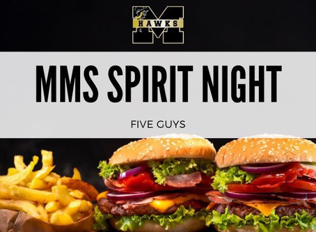 MMS Spirit Night