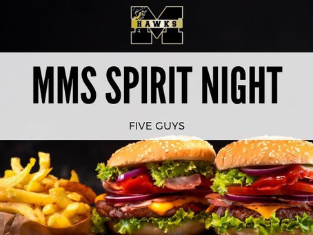 MMS Spirit Night