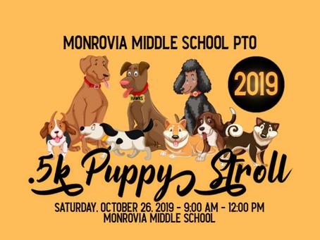 2019 MMS PTO Puppy Stroll