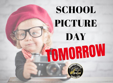 REMINDER: School Picture Day