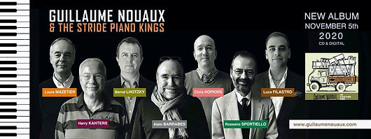 Guillaume Nouaux & the Stride Piano King