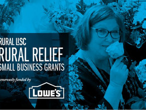 New Rural Relief Small Business Grant by Lowe's