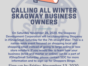 Sign Up for Shop Small Saturday!