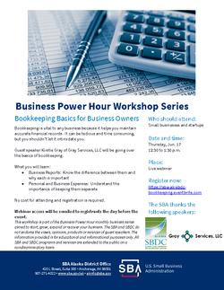 Biz Power Hour-Bookkeeping-June 17 2021.