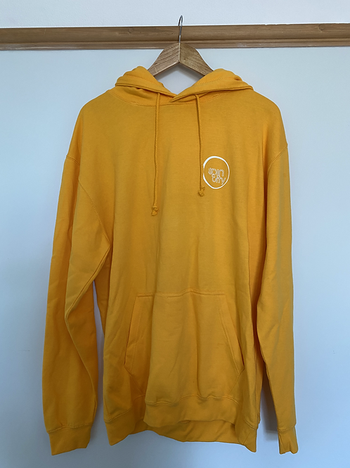 Yellow Spin City Pullover Hoodie