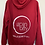 Thumbnail: Red Spin City Pullover Hoodie
