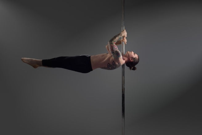 The Image Cella Man Pole Dancing