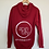 Thumbnail: Red Spin City Zip-Up Hoodie