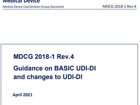 O Código UDI-DI Básico é referenciado em quais documentos e quando deve ser alterado?