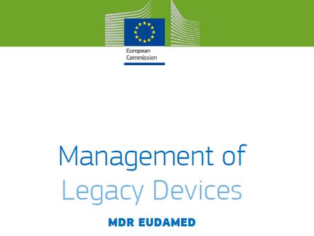 Os dispositivos médicos legados devem ser cadastrados na EUDAMED?