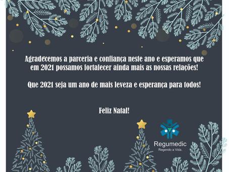 Feliz Natal e Próspero 2021!
