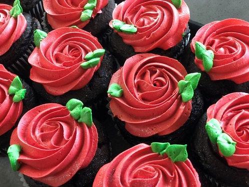 Love at first bite cupcakes- 1 dozen