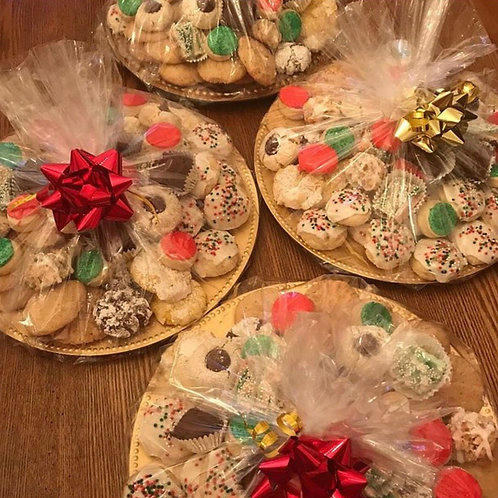 Christmas cookie trays- small