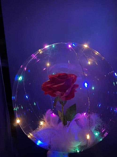 Enchanted Rose balloon