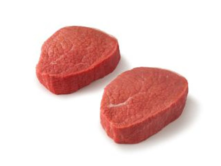 Eye of Round Steak 2/pk,   $/lb