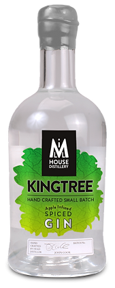 Kingtree Apple Infused Spiced Gin 70cl