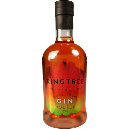 Kingtree Strawberry and Lime Gin Liqueur 50cl