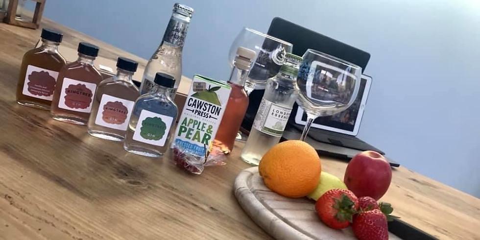 Virtual Gin tasting at home - 27th June