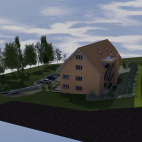 Neubau MFH Sonnendach Homrechtikon 2