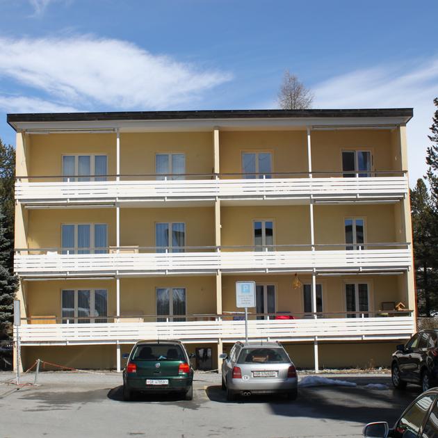 Skistrasse Davos vorher