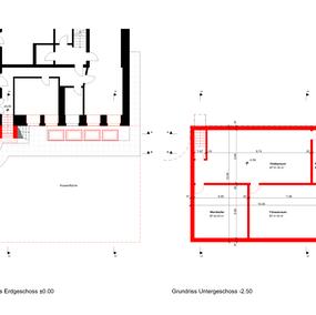 Baueingabe Grundrisse