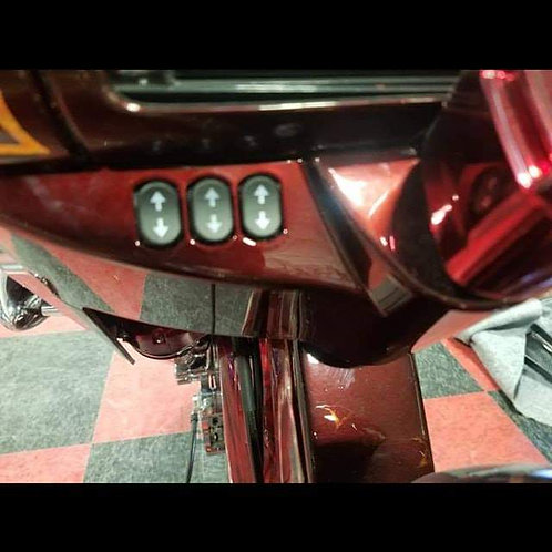 Road Glide / street glide Nacelle Air Ride Rocker Switches