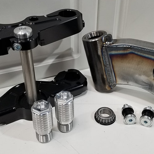 Softail rake kit for twin cam models