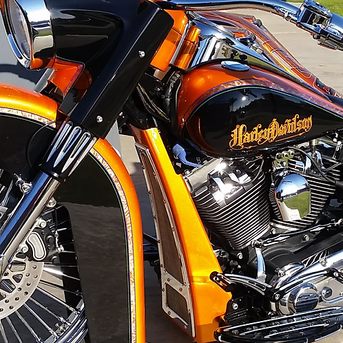 Complete Softail Chin Spoiler