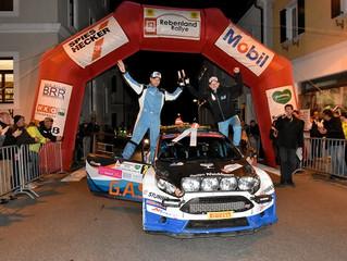 Rebenland Rallye: Neubauer schlägt Jung-Star Wagner