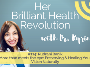 #114 More than meets the eye:  Preserving & Healing Your Vision Naturally