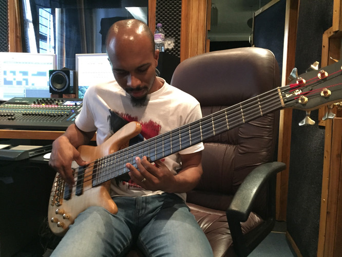 Chris on Bass Studio 5