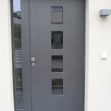 Holzmetall-Haustüre