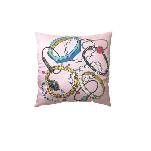 Pink Arm Candy Cotton Pillow Case