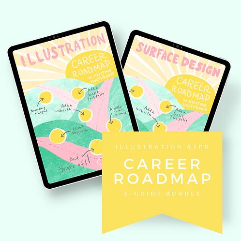 Illustration & Surface Design Career Roadmap Bundle