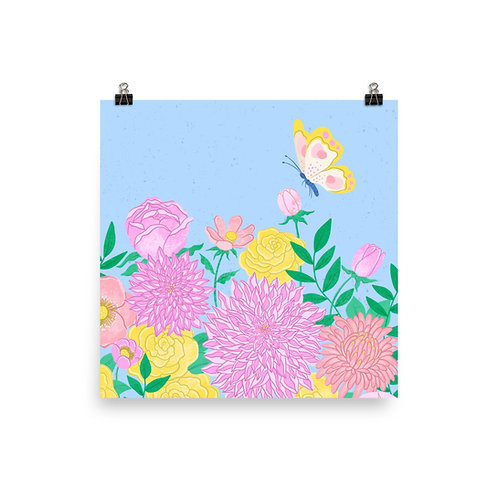 Wildflowers Version 2 Poster