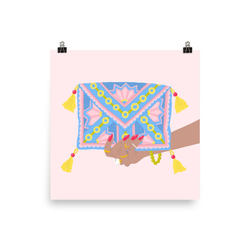 Colorful Clutch Poster