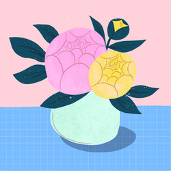 emmakisstina-peonies-vase